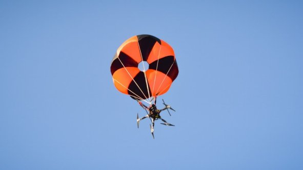 skycatdroneparachute